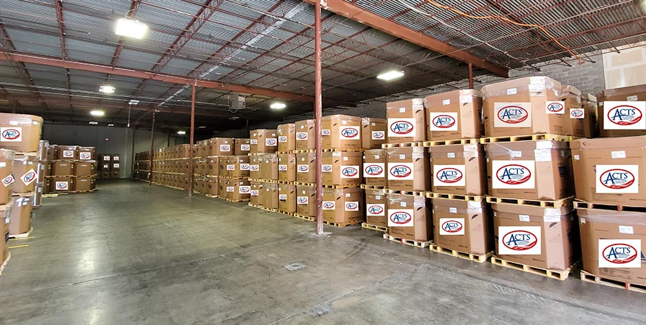 Cleanest Distribution Warehouse in Houston!
